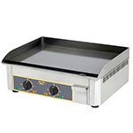 "Equipex PSS-600/1 23"" Electric Griddle - Thermostatic, Steel Plate, 120v"