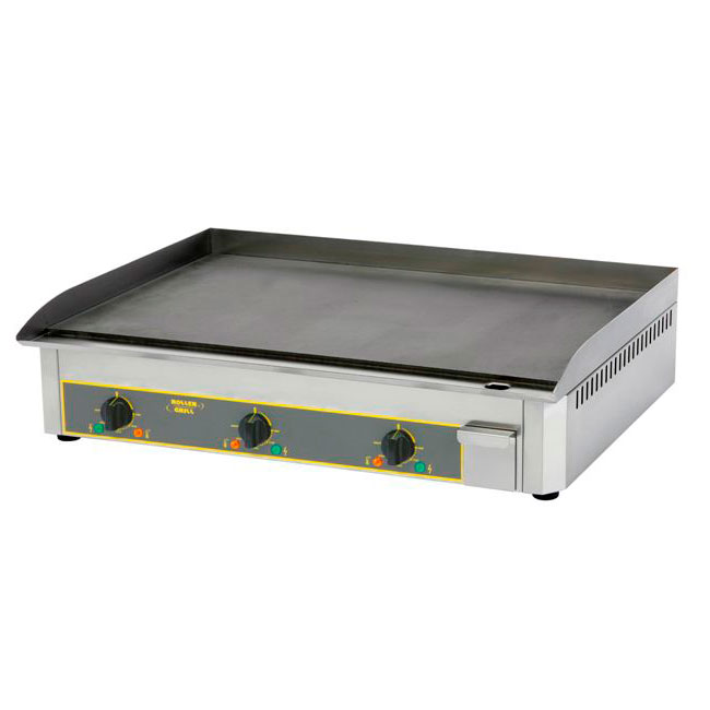 "Equipex PSS-900 1PH 35"" Electric Griddle - Thermostatic, Steel Plate, 120v"