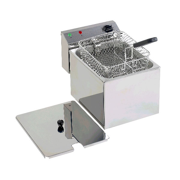Equipex RF8SP Countertop Electric Fryer - (1) 15-lb Vat, 208-240v/1ph