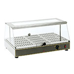 "Equipex WD-100 24"" Self-Service Countertop Heated Display Case - (1) Level, 120v"