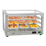 "Equipex WD780SS-2 30.5"" Countertop Warming Display - (2) Shelves, Stainless, 120v"