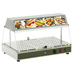 "Equipex WDL-100 24"" Self-Service Countertop Heated Display Case - (1) Level, 120v"