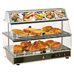 "Equipex WDL-200 24"" Countertop Display Warmer w/ (2) Shelves, 120v"
