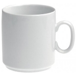 Revol 616067 3.25-in Porcelain Mug w/ 11.75-oz Capacity, White