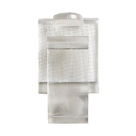 """Snap Drape A Type-A Snap Skirting Clip, Fits 3/8"""" to .5"""" Edge"""