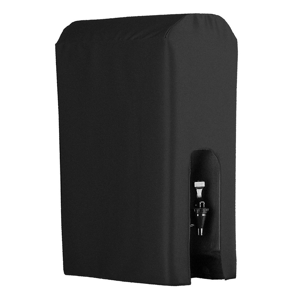 Snap Drape BDCWYN10 BLK 10-Gallon Beverage Dispenser Cover-Cambro & Carlisle, Black