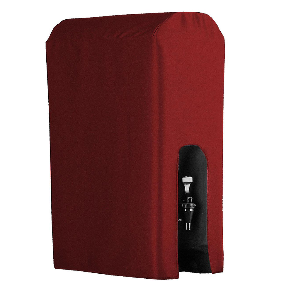 Snap Drape BDCWYN25 RED 2.5-Gallon Beverage Dispenser Cover, Fits Cambro & Carlisle, Red
