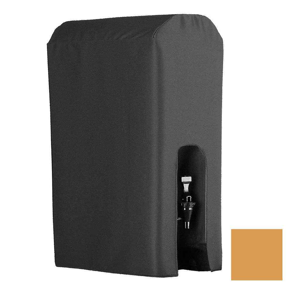 Snap Drape BDCWYN50 BTRSCH 5-Gallon Beverage Dispenser Cover-Cambro & Carlisle, Butterscotch