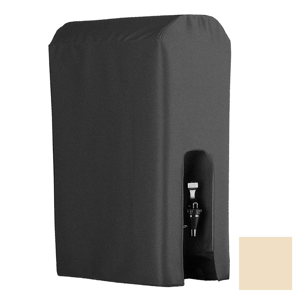 Snap Drape BDCWYN50 CRM 5-Gallon Beverage Dispenser Cover-Cambro & Carlisle, Cream