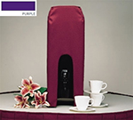 Snap Drape BDCWYN50 PUR 5-Gallon Beverage Dispenser Cover-Cambro & Carlisle, Purple