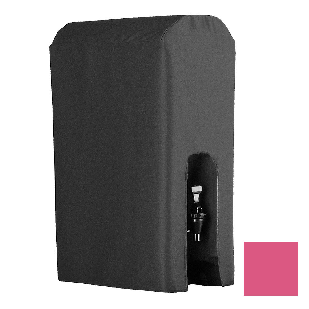 Snap Drape BDCWYN50 RSBRY 5-Gallon Beverage Dispenser Cover-Cambro & Carlisle, Raspberry