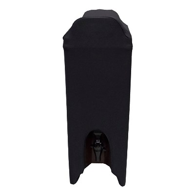 Snap Drape BSBDC5BLK 5-Gallon Beverage Dispenser Cover - Polyester/Spandex, Black