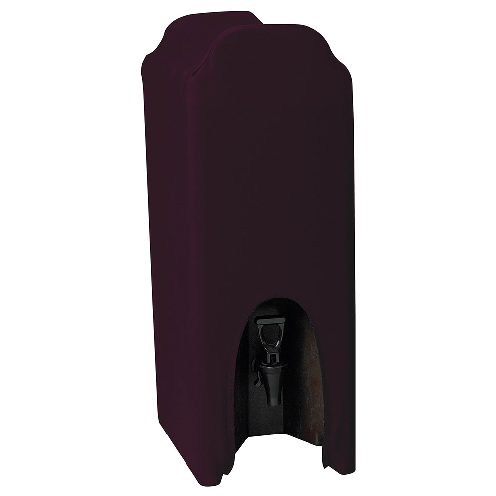 Snap Drape CCBDC25 BGDY Contour 2.5-Gallon Beverage Dispenser Cover, Snug Fit, Burgundy