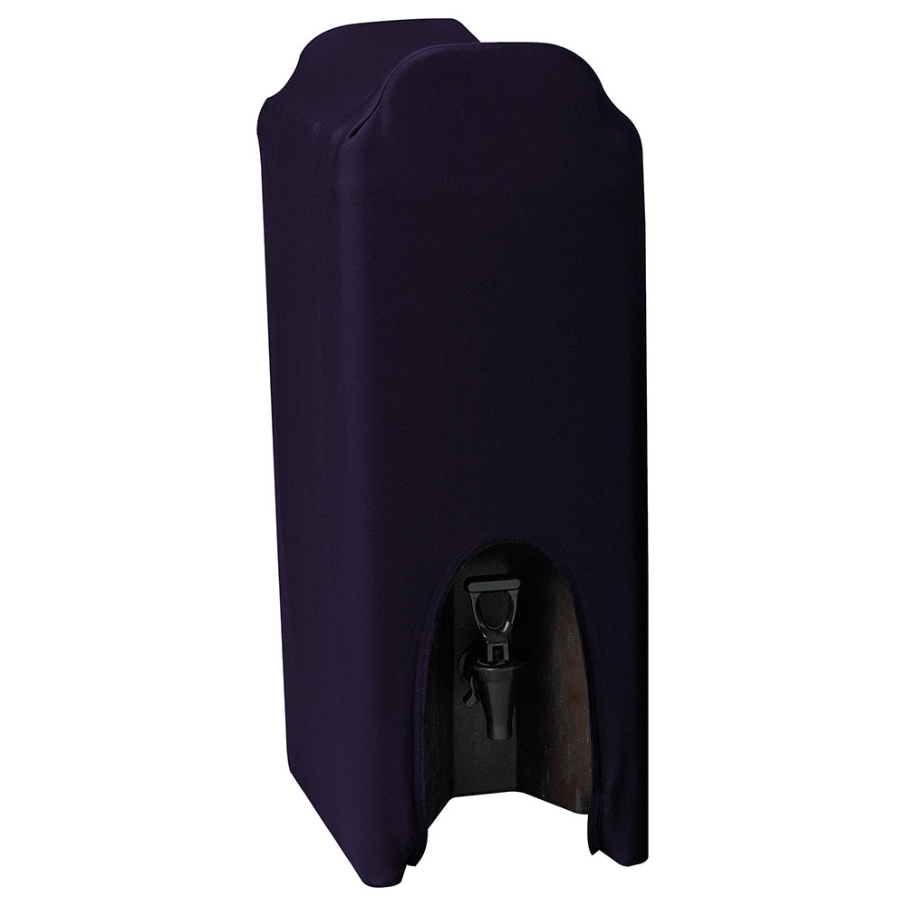 Snap Drape CCBDC25 PUR Contour 2.5-Gallon Beverage Dispenser Cover, Snug Fit, Purple