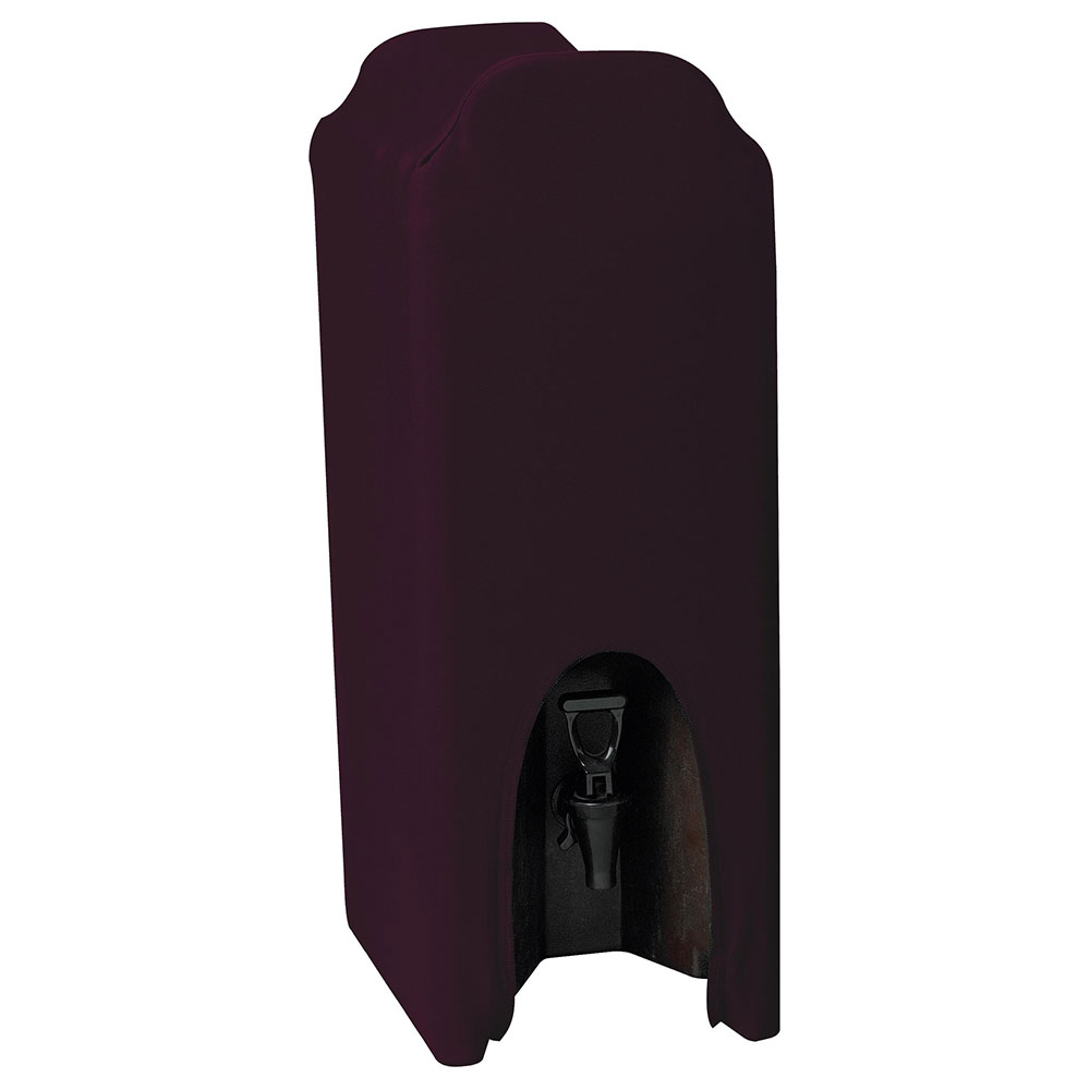 Snap Drape CCBDC5 BGDY Contour 5-Gallon Beverage Dispenser Cover, Snug Fit, Burgundy