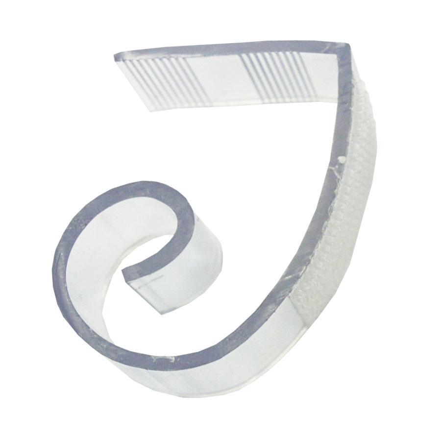 Snap Drape JV-100 Type JV Velcro Skirting Clip - Fits 1.7...
