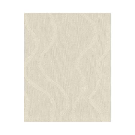 Snap Drape NAPWAV1717HMED IVRY Wave 17-in x 17-in Hemmed Napkin, Damask Pattern, Ivory