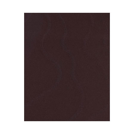 Snap Drape NAPWAV2020ODK CHC Wave 20-in x 20-in Overlocked Napkin, Damask Pattern, Chocolate