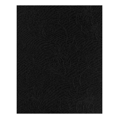 "Snap Drape NAPWIN2020ODK Windsor 20"" x 20"" Overlocked Napkin w/ Damask Pattern, Dark"
