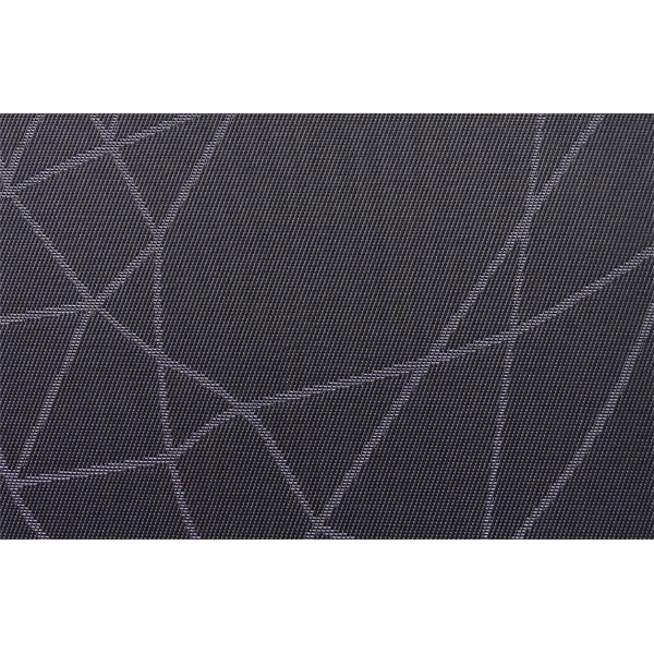"Snap Drape PMCHIDKBL Chico Placemat - 12x18"" Dark Navy"