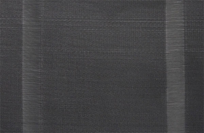"Snap Drape PMMANBLK Manhatten Placemat - 13x18"" Black"