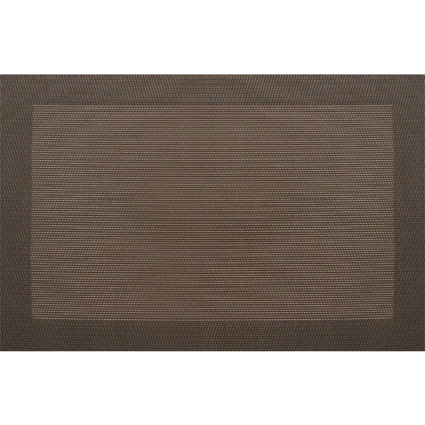 "Snap Drape PMRENCHC Reno Placemat - 13x18"" Chocolate"