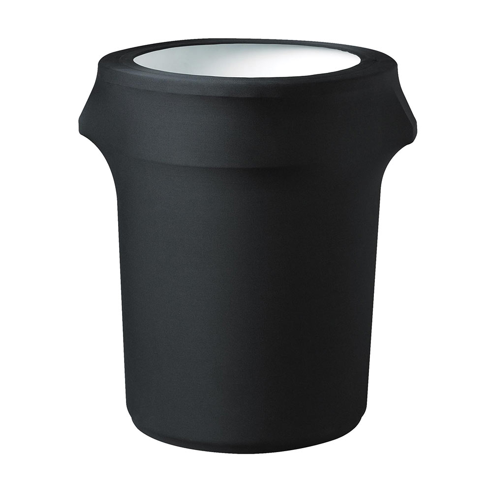 Snap Drape TCCCC32 BK Contour Trash Can Cover for 35-gal, Black