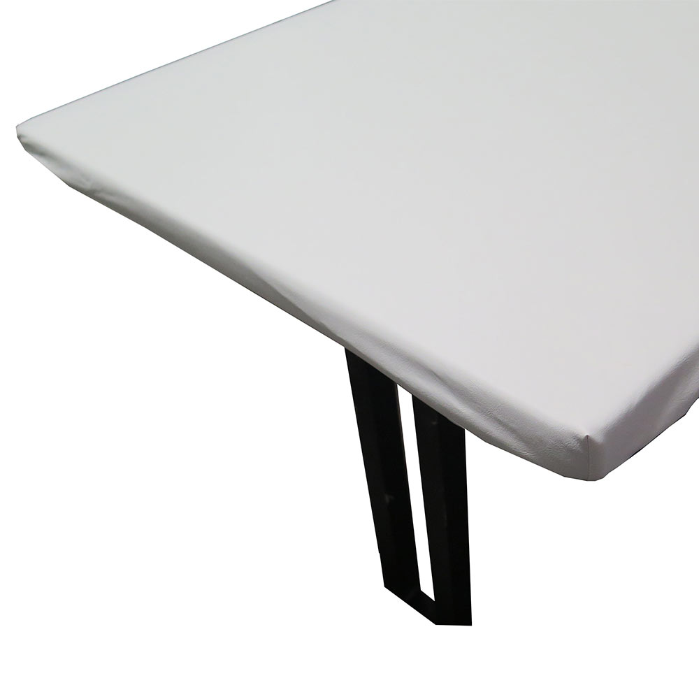 "Snap Drape TP5454 Table Padding w/ Vinyl Top, Fits 54"" x 54"" Table, Felt Backing"