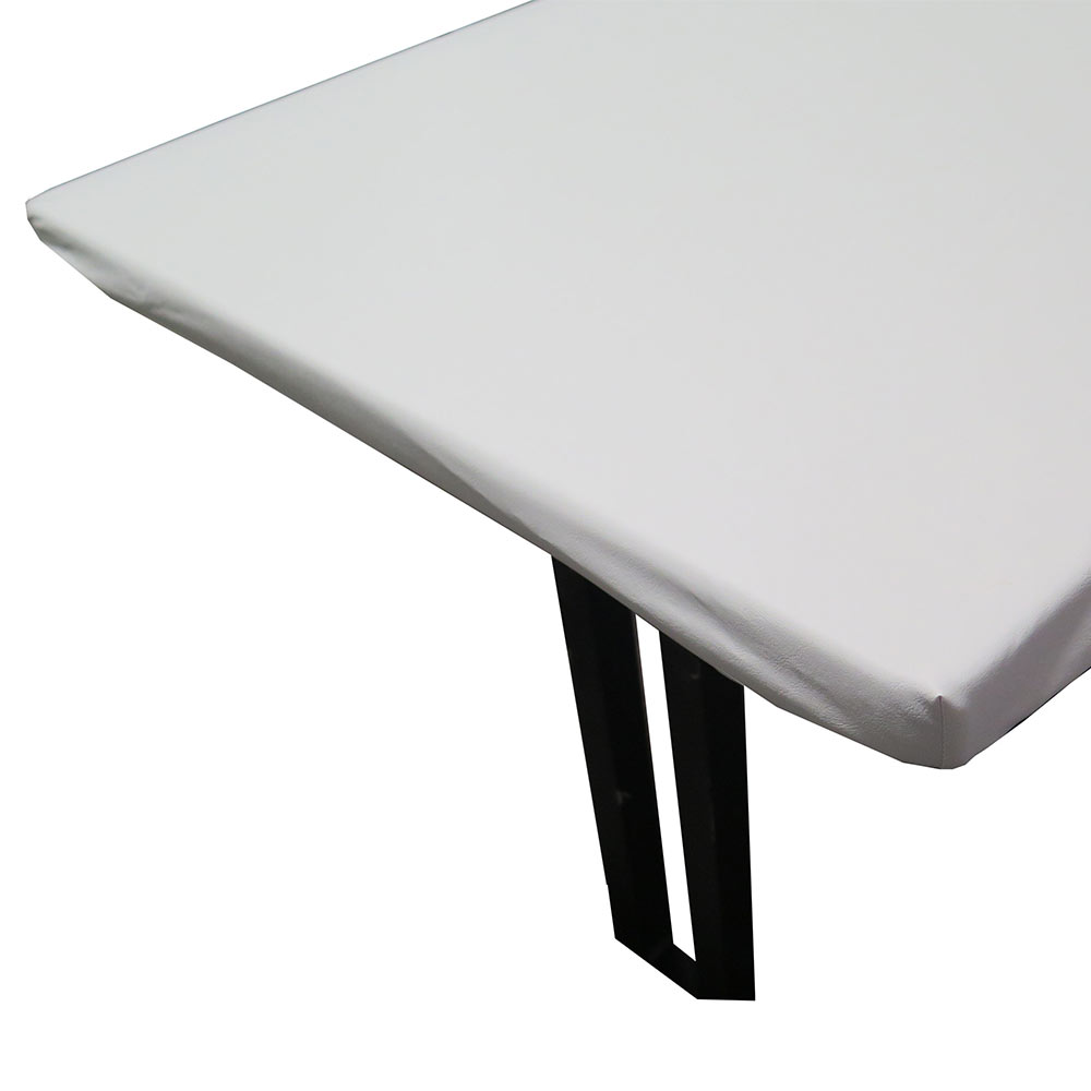 Snap drape tp6666 table padding w vinyl top fits 66 x for Html table padding