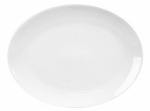 Mayfair 028 Oval Coupe Porcelain Platter, 11.5 x 8.5-in, White