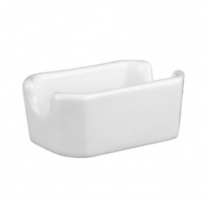 Mayfair 088 Porcelain Sachet Holder, 4.75 x 3 x 2.25-in, White