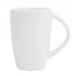 Mayfair 128 10-oz Porcelain Lux Mug, White
