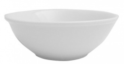 Mayfair 153 12-oz Porcelain Oatmeal Bowl, 6-in, White