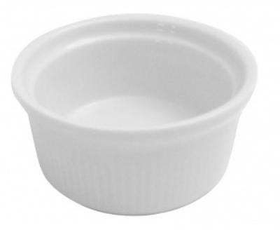 Mayfair 205 1-oz Porcelain Ramekin, 2.5-in, White
