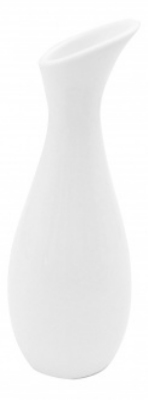Mayfair 244 8.75-in Porcelain EU Bud Vase, White