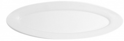 Mayfair 274 18-in Giant Porcelain Plate, White