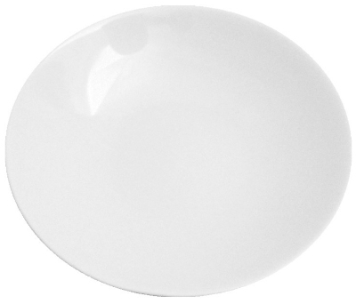 Mayfair 347-96 2-oz Porcelain Sauce Dish, 4-in, White