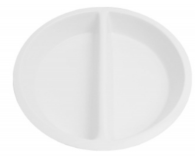 Mayfair 373 4-qt Porcelain Food Pan Insert For Roll Top Chafer, White