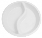 Mayfair 374 Ying-Yang Porcelain Pan Insert For Roll Top Chafer, White