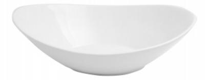 Mayfair 419 Porcelain Dragon Bowl, 16 x 12-in, White