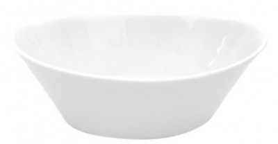 Mayfair 485 14-oz Porcelain Verro Bowl, 7 x 4.25 x 2-in, White