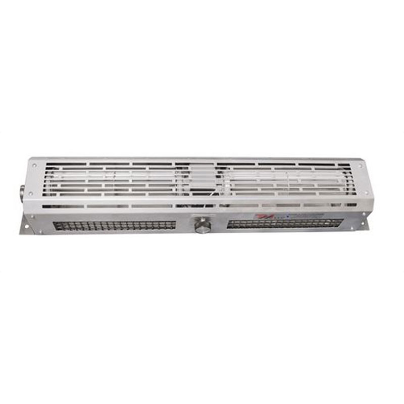 "Curtron DT-24-EH 24"" Window Air Curtain w/ Variable Speeds, Stainless, 120v"