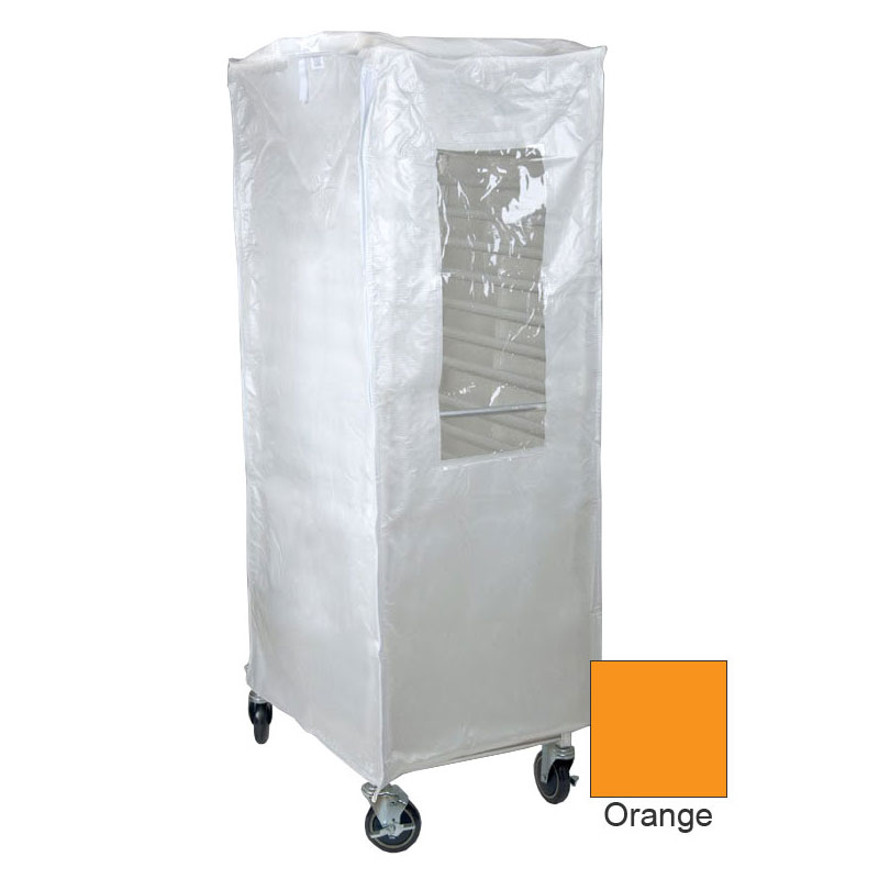 Curtron SUPRO-14-O Standard Rack Cover w/ 14-oz Polyester Reinforced PVC, Universal Load, Orange