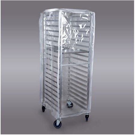 Curtron SUPRO-16 Rack Cover w/ Universal Load, Clear PVC