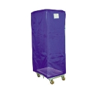 Curtron SUPROICBL Rack Cover, Insulated, 23 in W x 28 in D x 62 in H, Blue