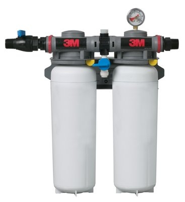 3M Water Filtration 5624503 ICE260-S Filter System w/ Shut Off Valve, 0.2 Microns