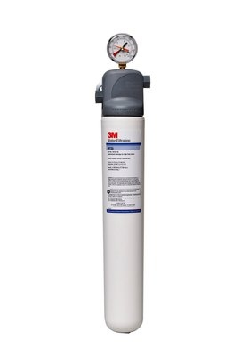 3m Water Filtration BEV135 Single Combination Water Filter Cartridge Assembly, Valve