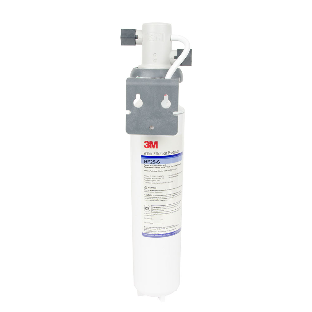 3M Cuno BREW125-S (56160-09) Single Combination Water Filter Cartridge Assembly, Valve