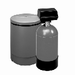 3m Water Filtration HWS050 HWS050 Hot Water Softener For Warewashing, Reduces Hardness