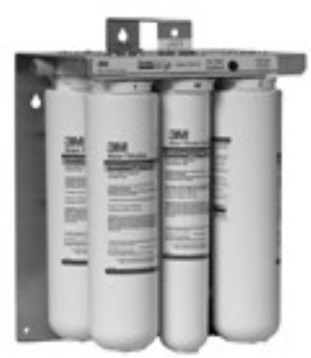3M Cuno TSR150-4 TSR150 Steamer Reverse Osmosis Filtration Systems, SQC Style